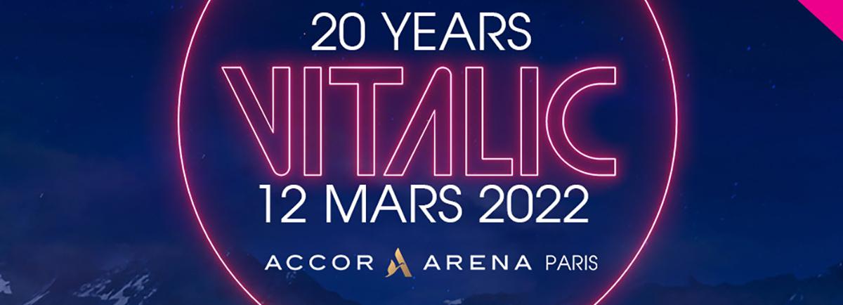 Vitalic à Bercy pour ses 20 ans de carrière