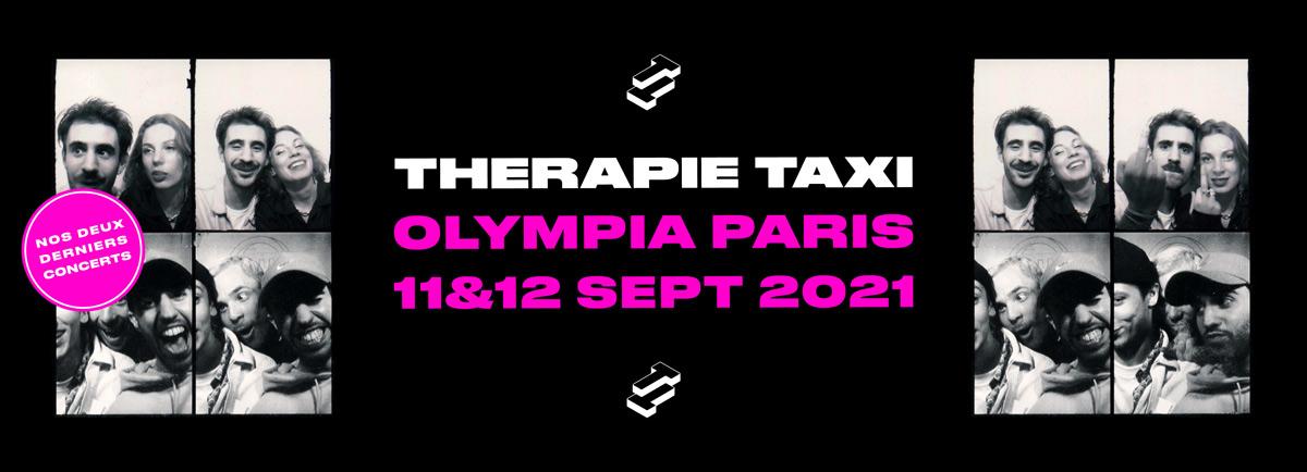 Les deux derniers concerts d'adieu de Thérapie Taxi !